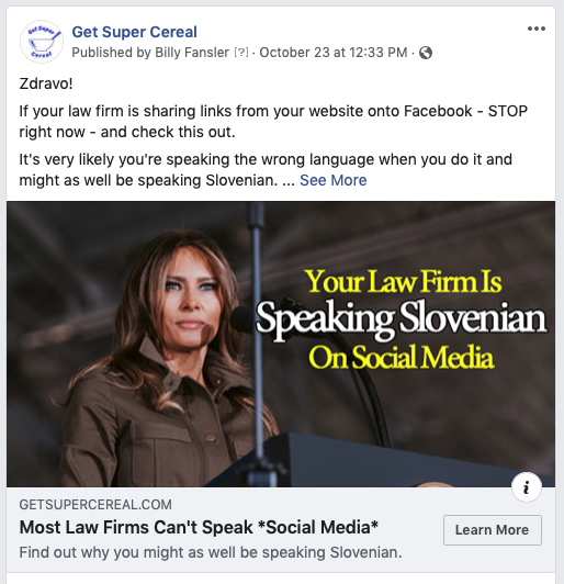 facebook image dimension, melania trump, facebook open graph tags, law firm social media marketing, facebook image size, 1200x628, billy fansler