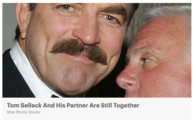 click-bait, tom selleck, tom selleck married, tom selleck gay, law firm marketing, facebook for law firms, optimizing facebook posts, facebook marketing for law firms