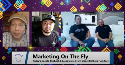 """Marketing From A Sofa? – """"Marketing On The Fly"""", Ep. 2"""