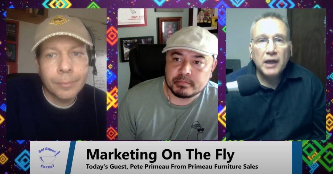 "Using A Broken Supply Chain As A Sales Opportunity – ""Marketing On The Fly"", Ep. 3"